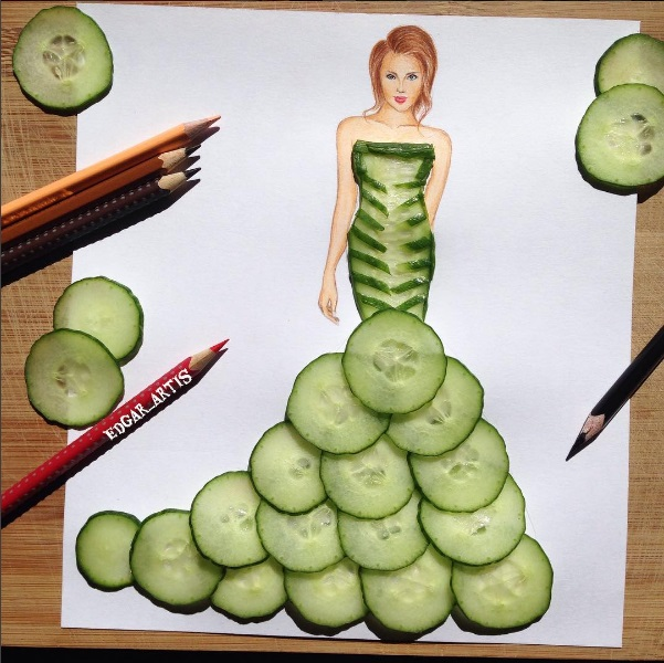 Cucumber gown